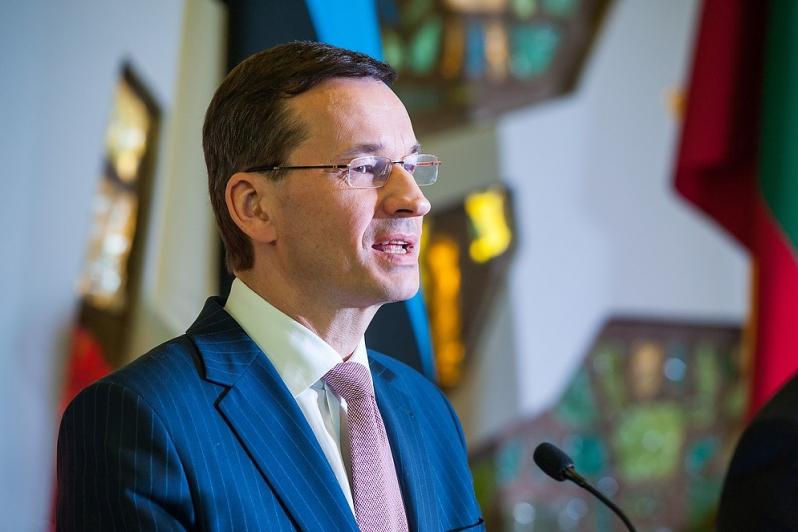 Premier Morawiecki po spotkaniu z szefami rządów państw bałtyckich w Wilnie: Chcemy odbudować Bursztynowy Szlak