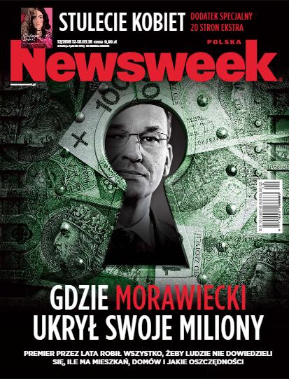 """Newsweek: Premier Morawiecki """"żongluje swoim majątkiem, żeby pokazać z niego tylko to, co chce"""". Rzecznik rządu: To atak polityczny"""