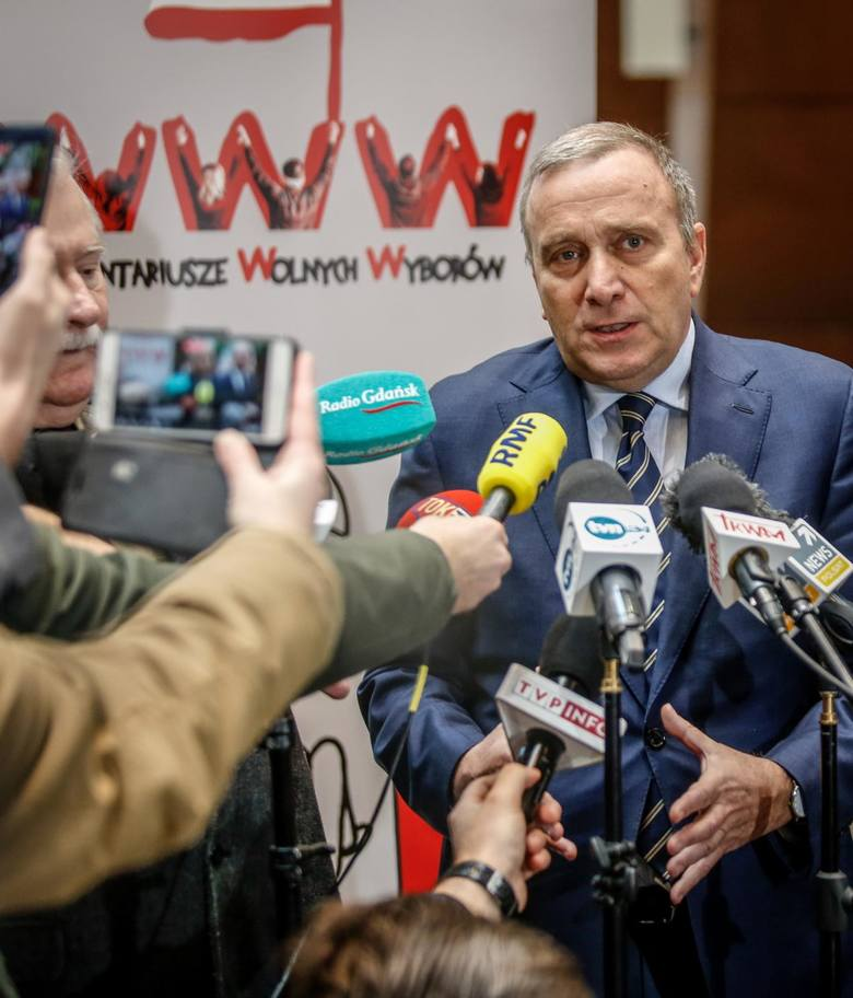 Grzegorz Schetyna zapowiedział wystawienie w Gdańsku kandydata PO przeciwko Pawłowi Adamowiczowi