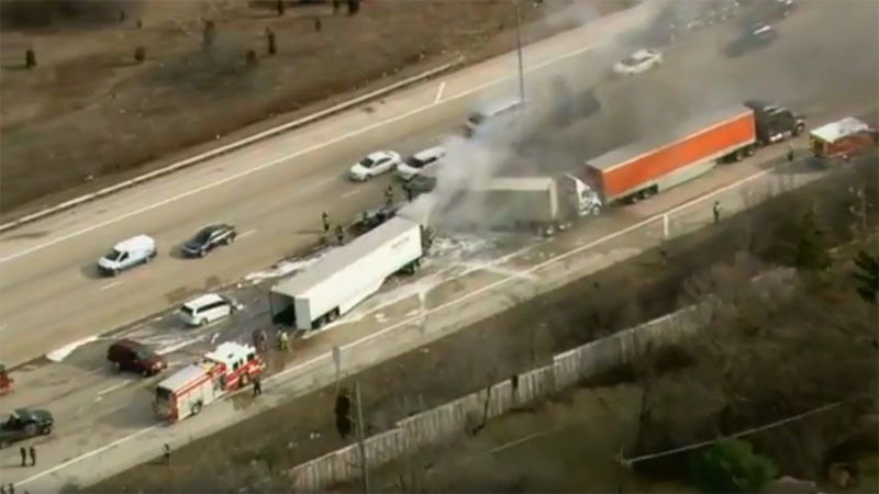 NTSB prowadzi dochodzenie ws. wypadku na autostradzie I-290