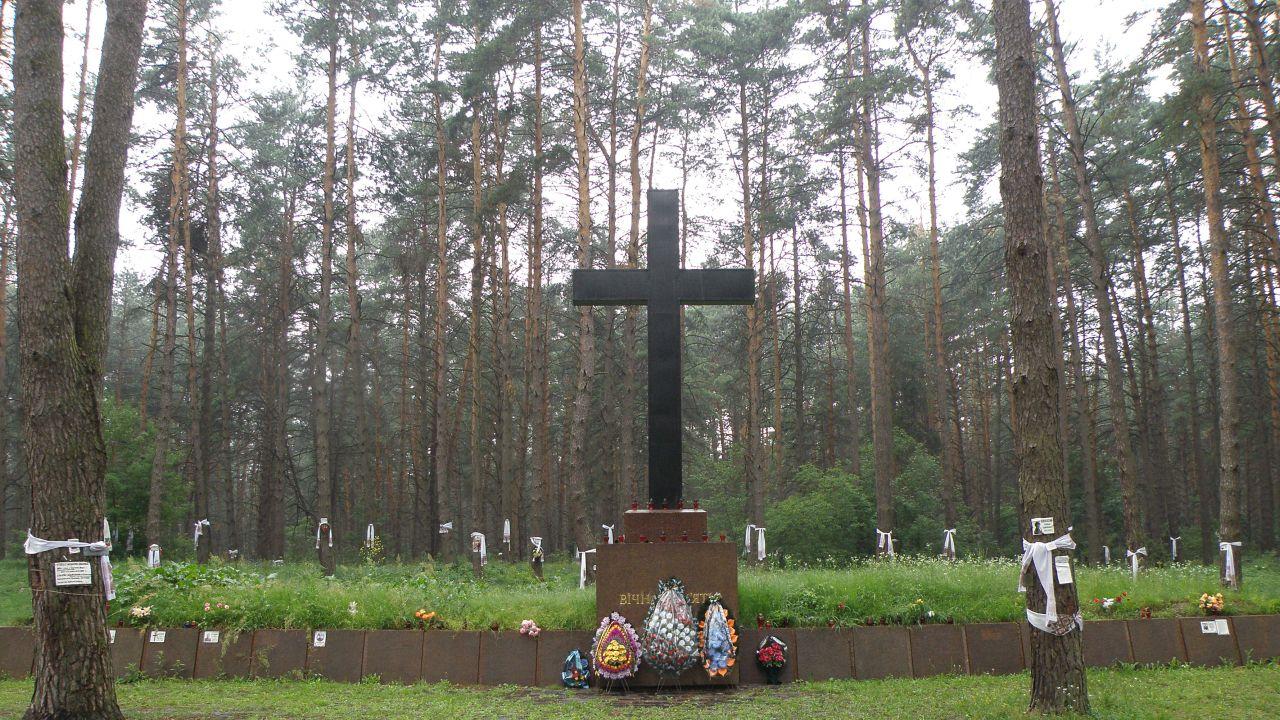 Ukraina: Polacy w Bykowni uczcili ofiary zbrodni katyńskiej