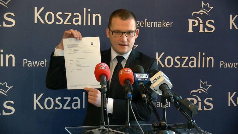 Koszalin: Poseł PiS Paweł Szefernaker oddał nagrodę