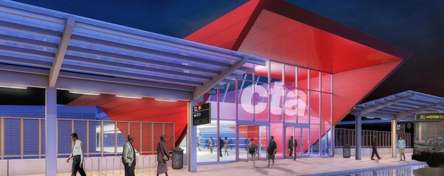 Uroczyste otwarcie zmodernizowanej stacji Red Line przy 95 ulicy