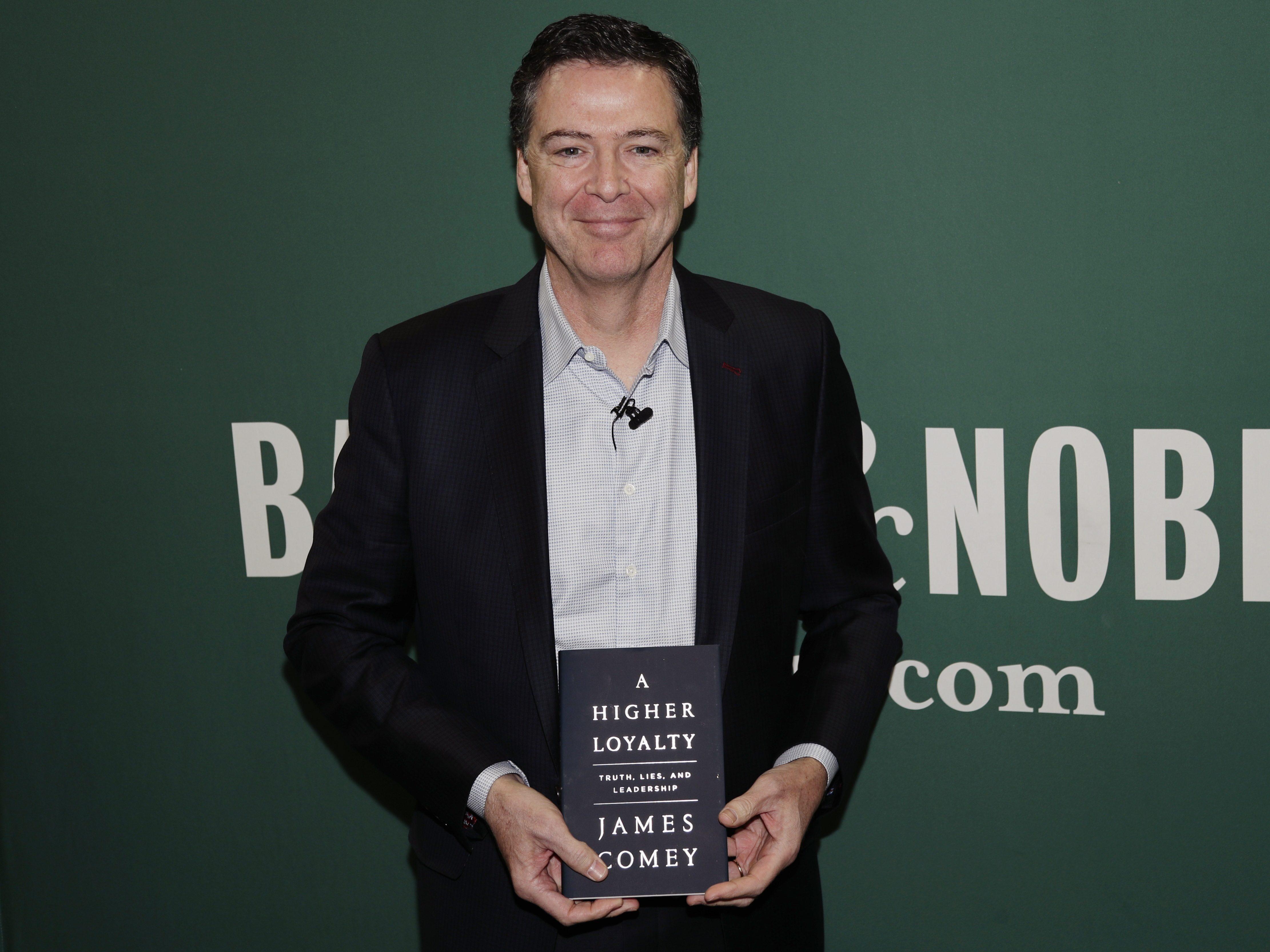 James Comey w Chicago promował swoją książkę