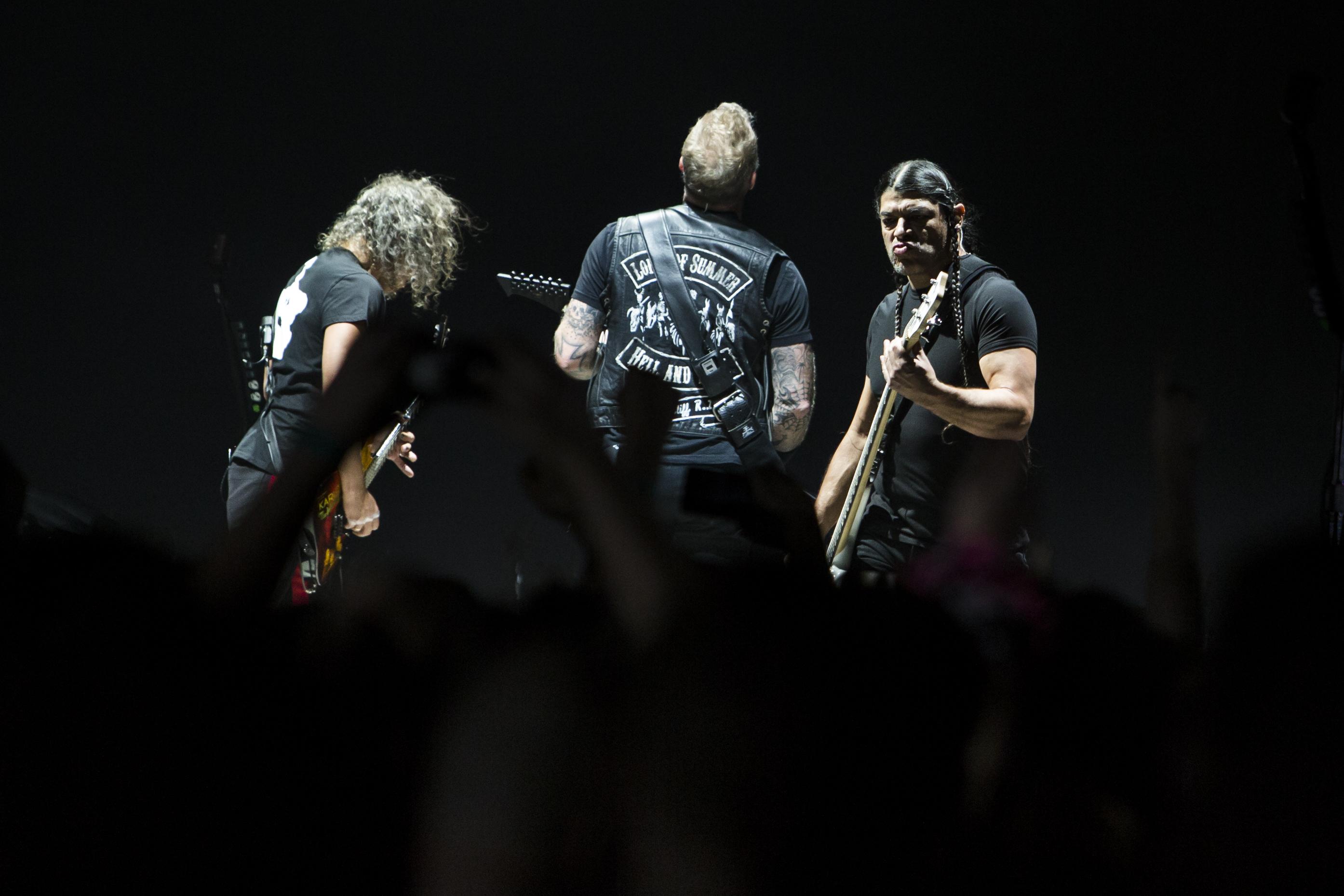 """Metallica zagrała w Krakowie """"Wehikuł Czasu"""" i wsparła Bank Żywności"""