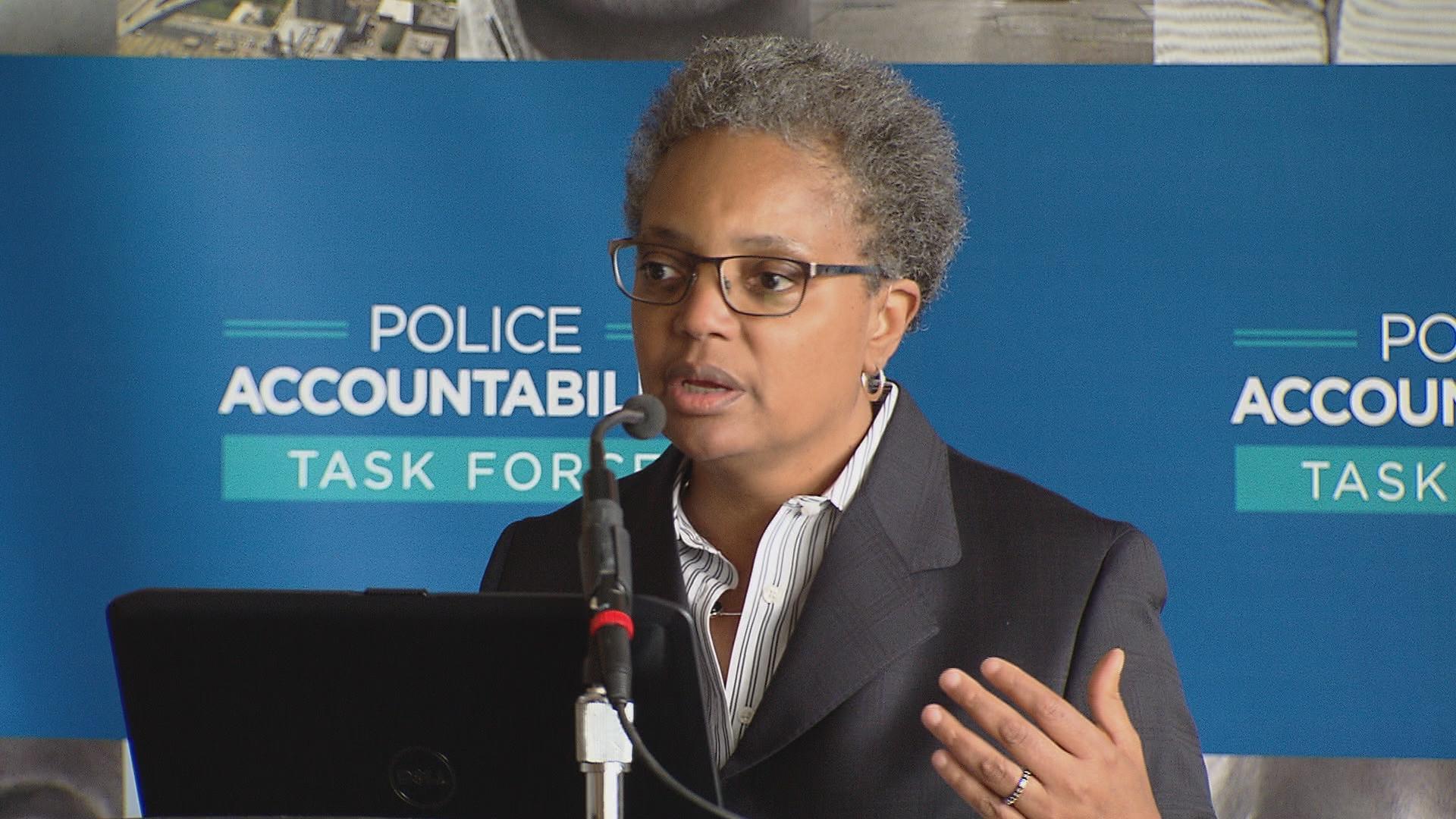 Lori Lightfoot zrezygnowała ze stanowiska przewodniczącej komisji policji Chicago