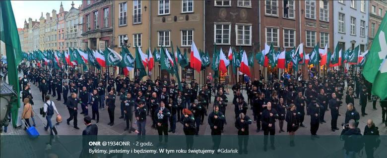 Działaczki inicjatywy Ogólnopolski Strajk Kobiet: Adamowicz do prokuratury za nierozwiązanie demonstracji ONR
