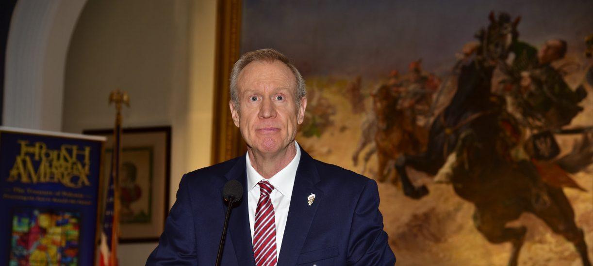 Gubernator Illinois – Bruce Rauner udał się w podróż do Polski i do Niemiec