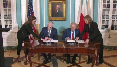 Polska i Stany Zjednoczone zawarły umowę o współpracy naukowo-technicznej