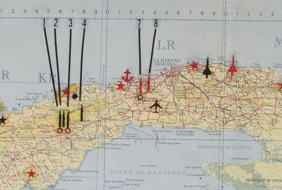 Mapa Kuby używana przez Kennedy'ego sprzedano za ponad 138 tys. dolarów