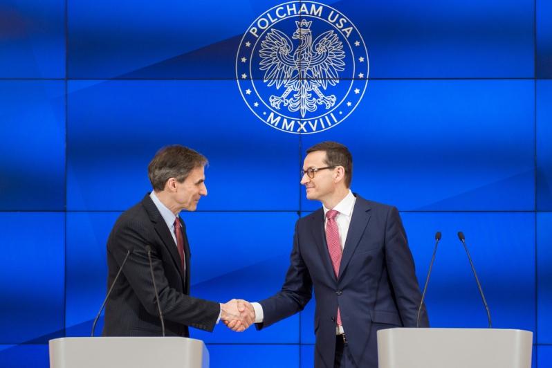 Premier i ambasador USA ogłosili powstanie Polskiej Izby Handlowej w USA