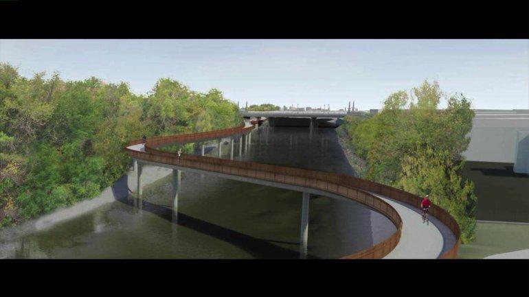 Rahm Emanuel przedstawił plan przedłużenia ścieżki rekreacyjnej nad rzeką Chicago