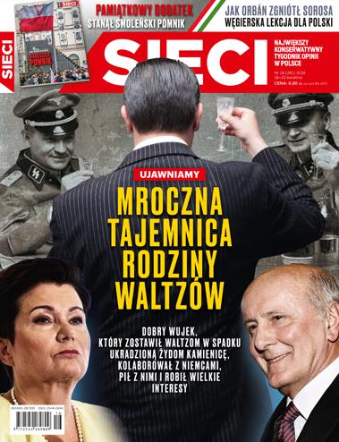 """""""Sieci"""": Wujek, który zostawił Waltzom w spadku ukradzioną kamienicę, kolaborował z hitlerowcami"""