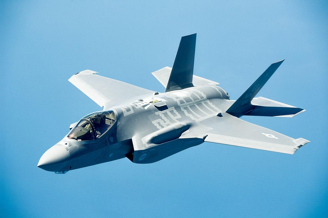Izrael: Supernowoczesny amerykański samolot myśliwski F-35 użyty w akcji