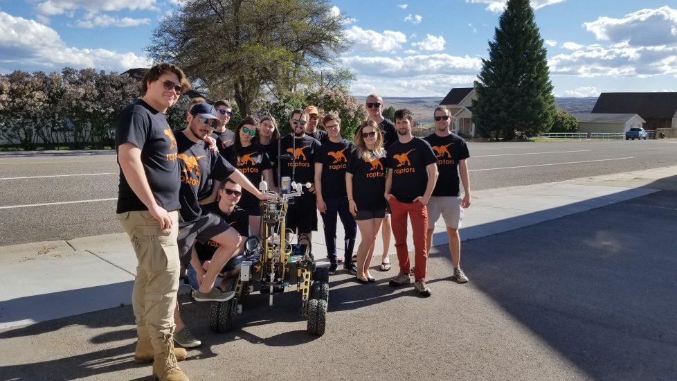 Polscy studenci Raptors PŁ i ich łazik marsjański w finale University Rover Challenge w Utah