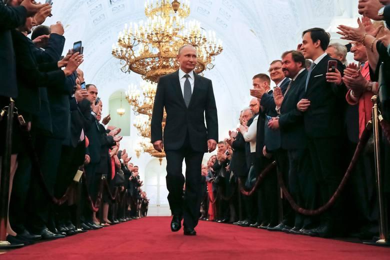 Rozpoczęła się czwarta kadencja prezydentury Władimira Putina