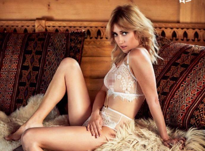Justyna Żyła NAGO w Playboyu – GÓRALU, CZY CI NIE ŻAL – zajawka rozbieranej sesji przytykiem do Piotra Żyły?