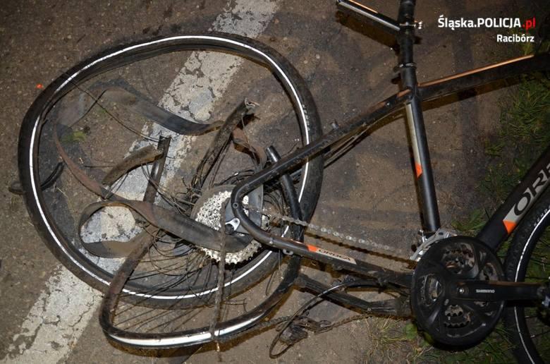 Racibórz: Samochód wjechał w grupę rowerzystów