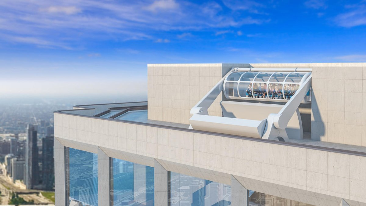 Aon Center będzie miało szklane obserwatorium