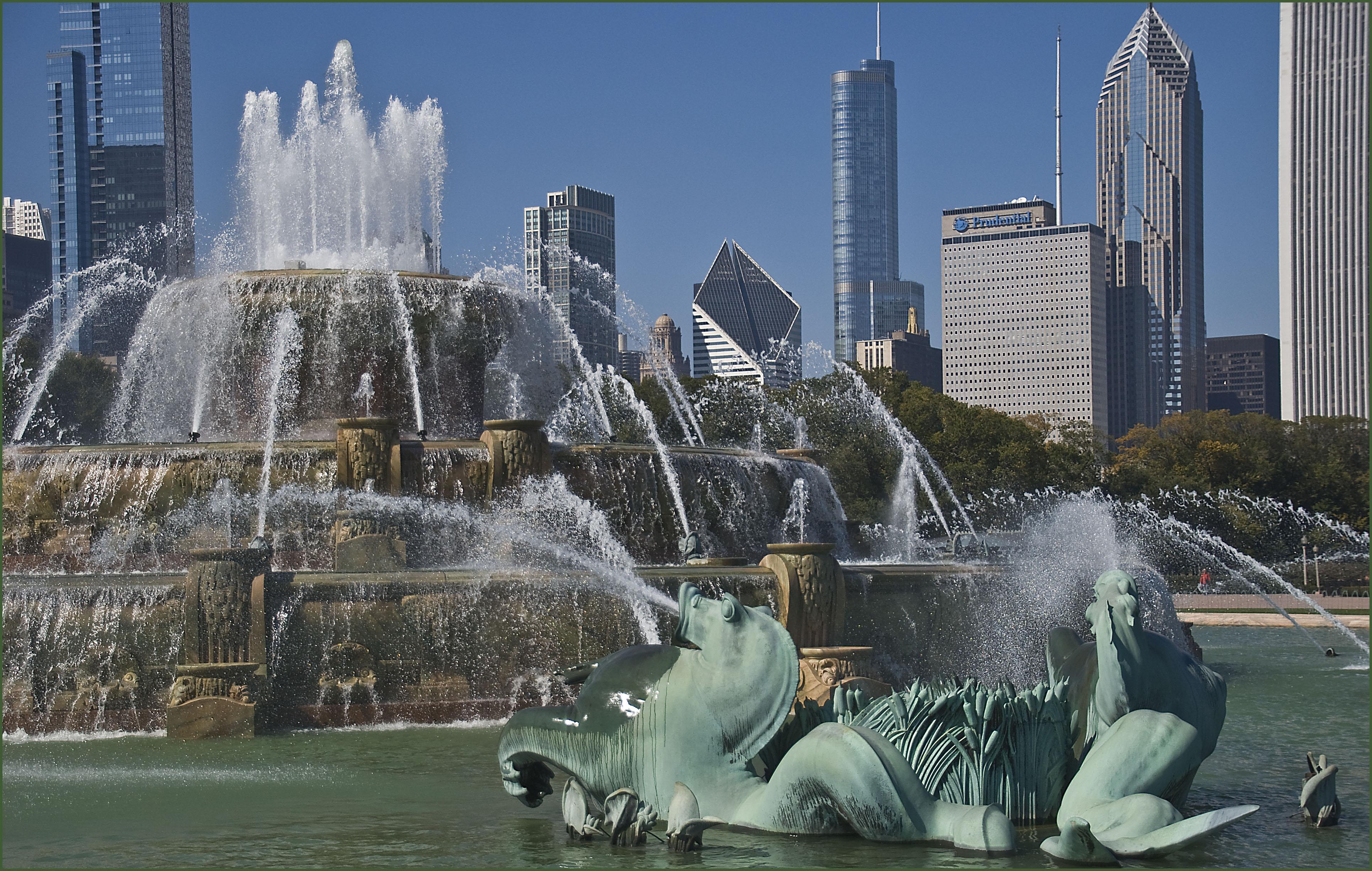 W niedzielę uruchomiona zostanie fontanna Buckingham