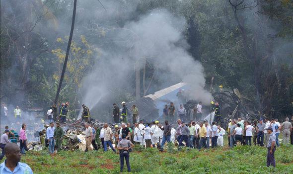 Samolot rozbił się tuż po starcie na lotnisku w Hawanie