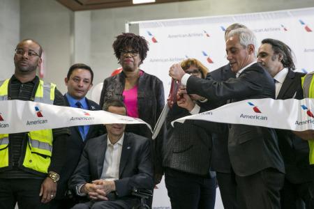 Linie American uruchomiły nowe bramki na O'Hare