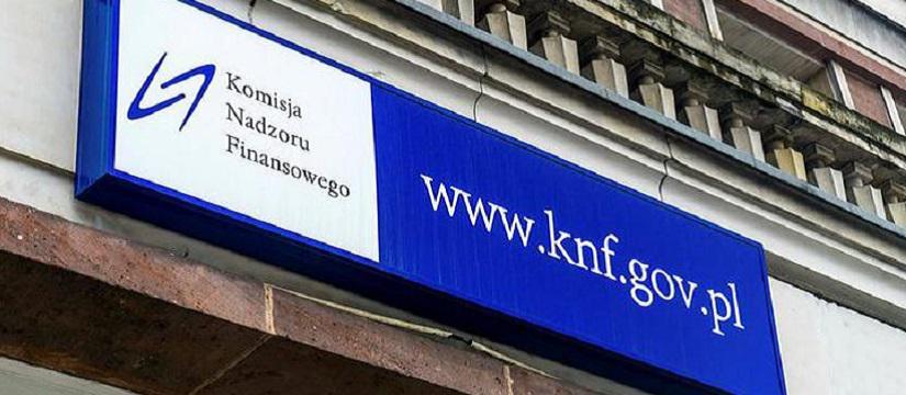 Służby przeszukują dokumenty w KNF