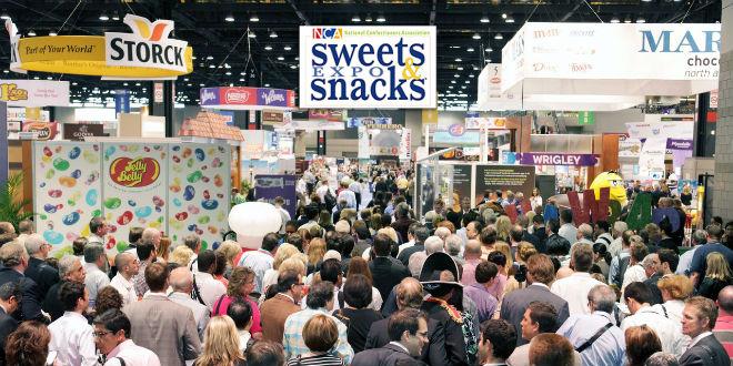 Kradzież słodyczy ze Sweet and Snacks Expo