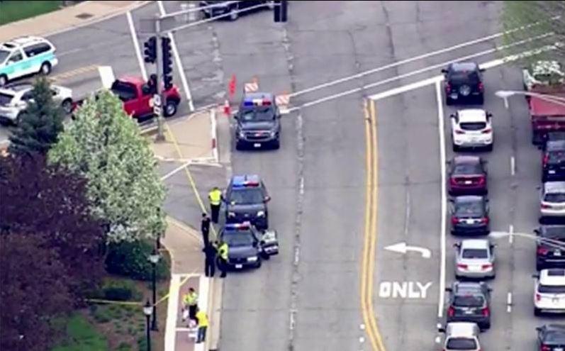 Nie żyje mężczyzna znaleziony na drodze w Arlington Heights