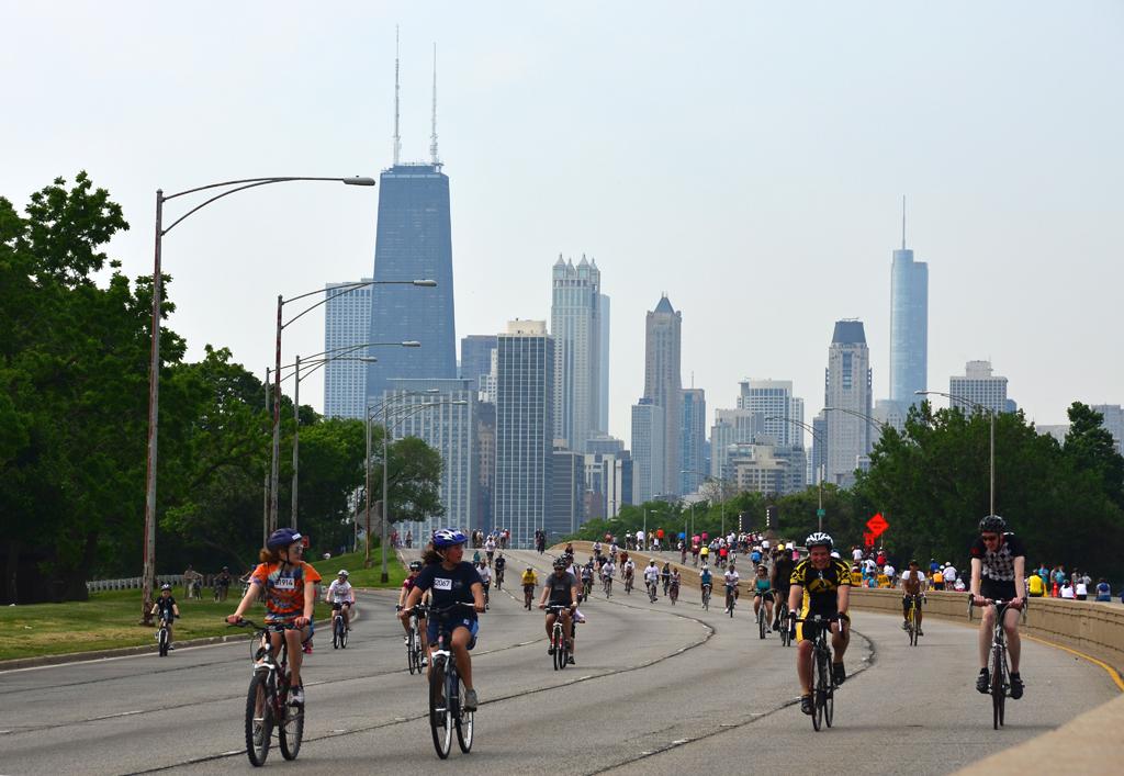 W najbliższą niedzielę odbędzie się Bike the Drive