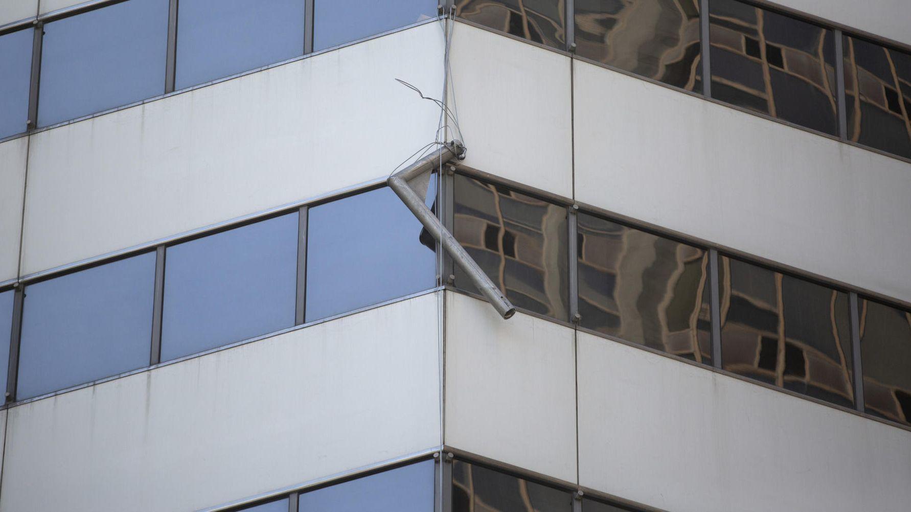Z budynku przy Michigan Avenue spadła część sprzętu budowlanego i uderzyła mężczyznę