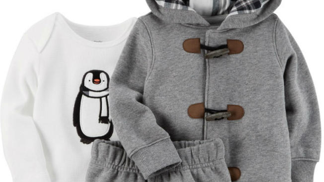 Carter's wycofuje ubranka dla dzieci z powodu ryzyka zadławienia