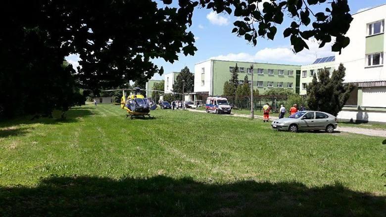 Lubliniec: Pacjent szpitala psychiatrycznego wyskoczył z okna?