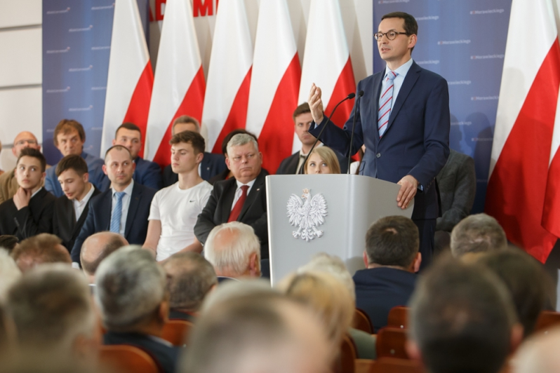 Premier M. Morawiecki: Polska jest w grupie krajów rozwiniętych dzięki przedsiębiorcom i pracownikom