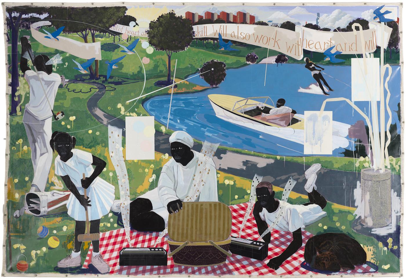 Ponad 21 milionów dolarów za obraz chicagowskiego artysty