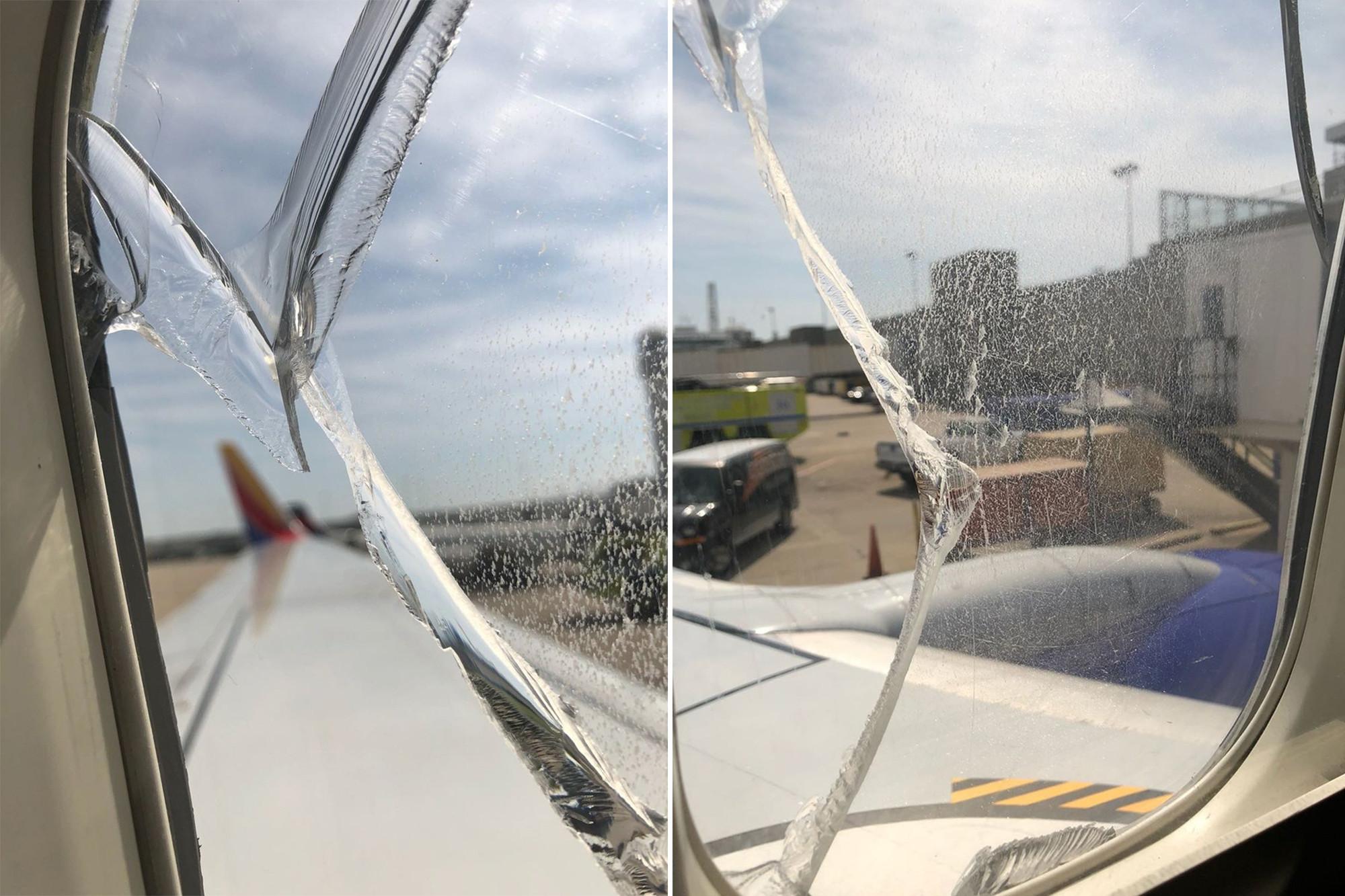 Pęknięta szyba powodem awaryjnego lądowania samolotu Southwest