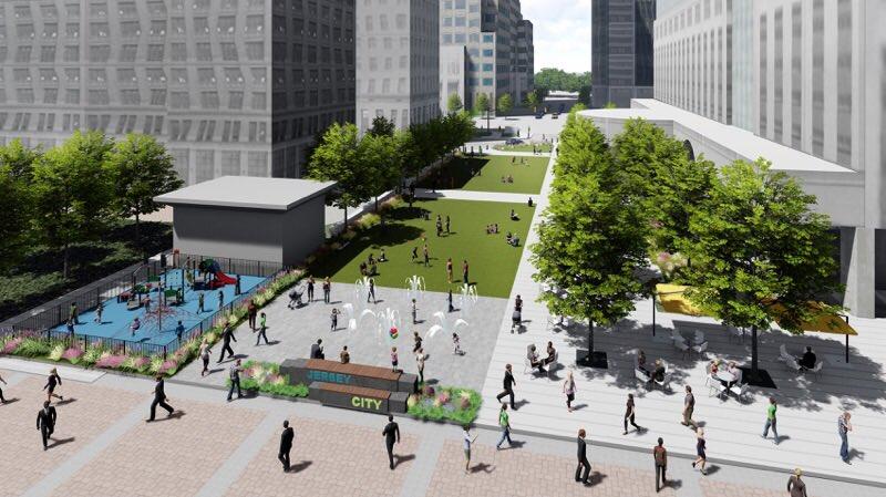 Burmistrz Jersey City nie składa broni i przedstawia plan placu bez Pomnika Katyńskiego