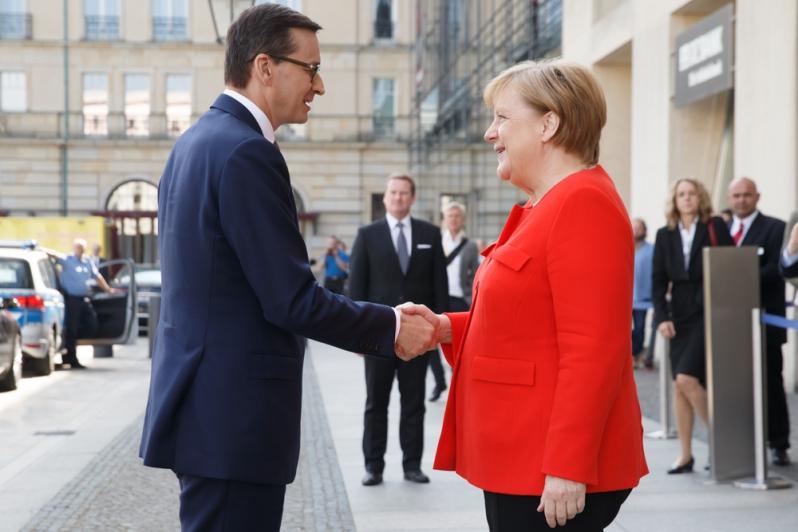 Wizyta premiera Morawieckiego w Niemczech