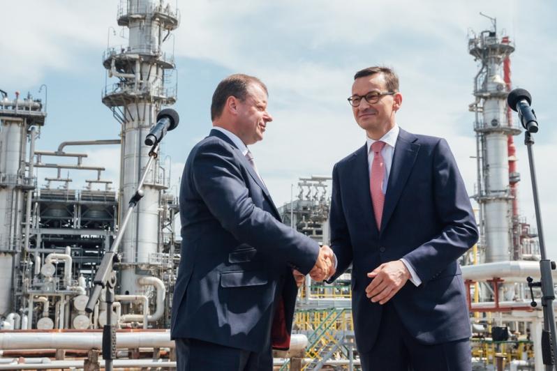 Morawiecki: Decyzje sprzed 10 lat o inwestycji na Litwie procentują dziś