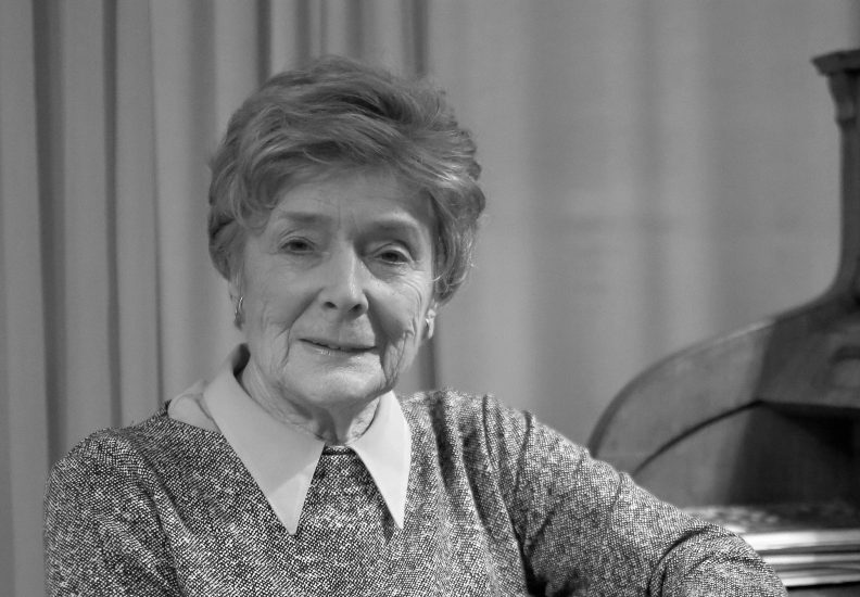 Nie żyje prof. Olga Krzyżanowska