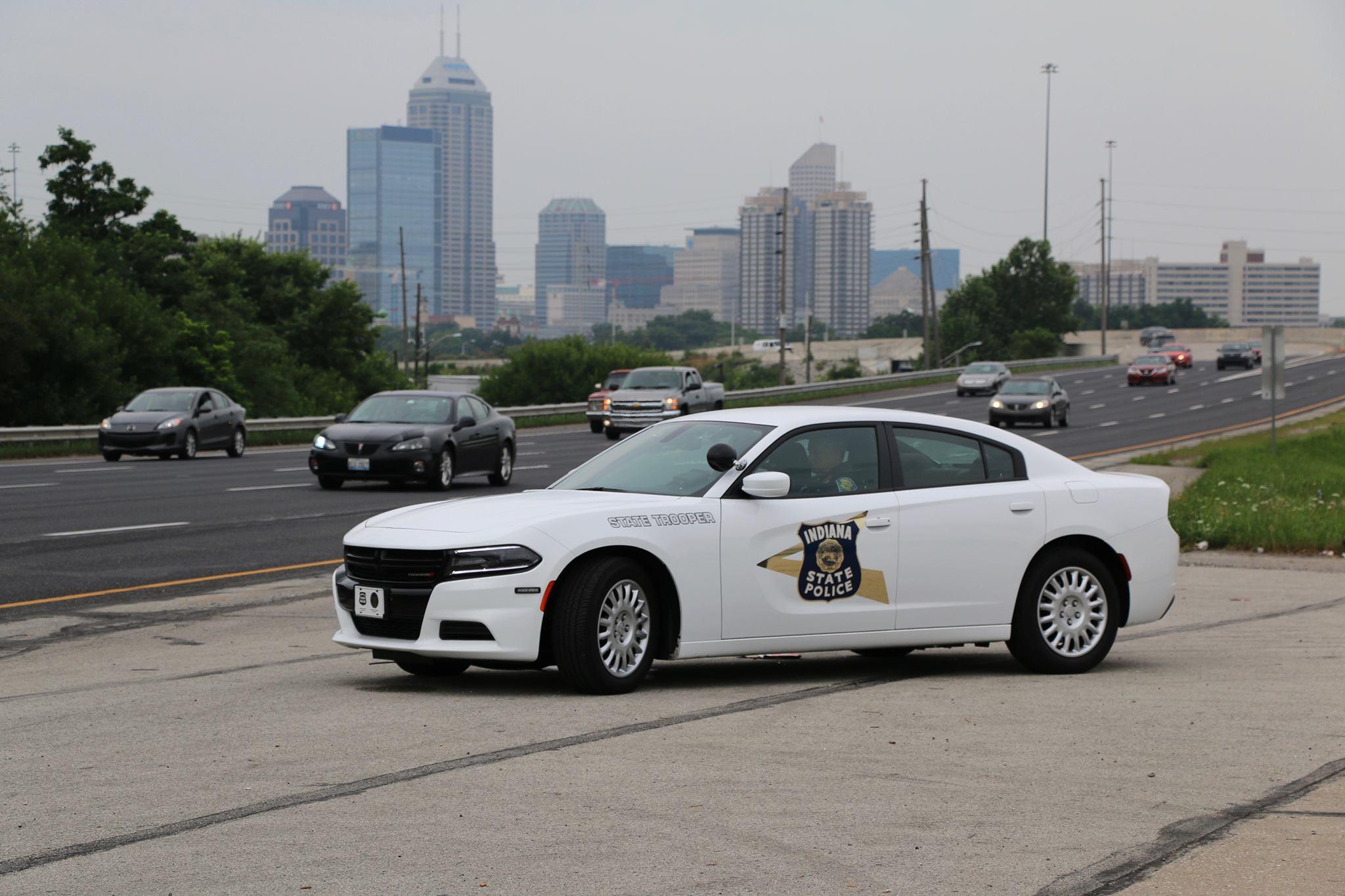 Policja w Indianie zatrzymała motocyklistę jadącego 135 mil na godzinę