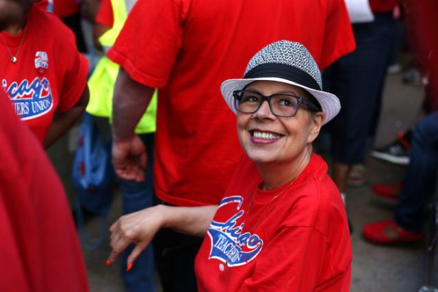 Przewodnicząca CTU, Karen Lewis przeszła operację mózgu