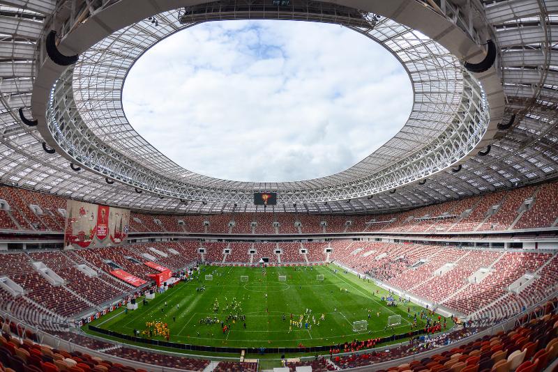 Mundial w Rosji: Kibice koczowali w pobliżu stadionu niemal całą noc
