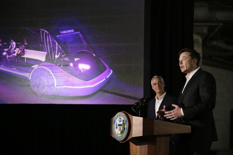 Elon Musk nie zrealizuje planu szybkiego połączenia z O'Hare