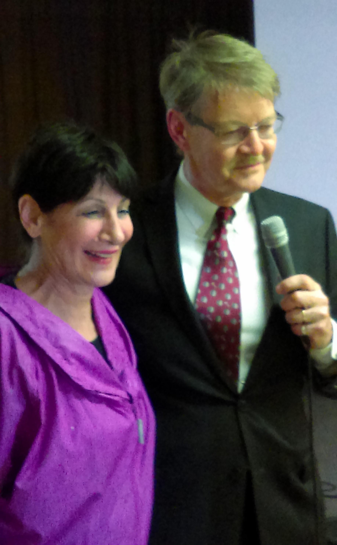 Maria Pappas, Skarbnik powiatu Cook na spotkaniu Kongresu Polonii Amerykańskiej na Stan Illinois