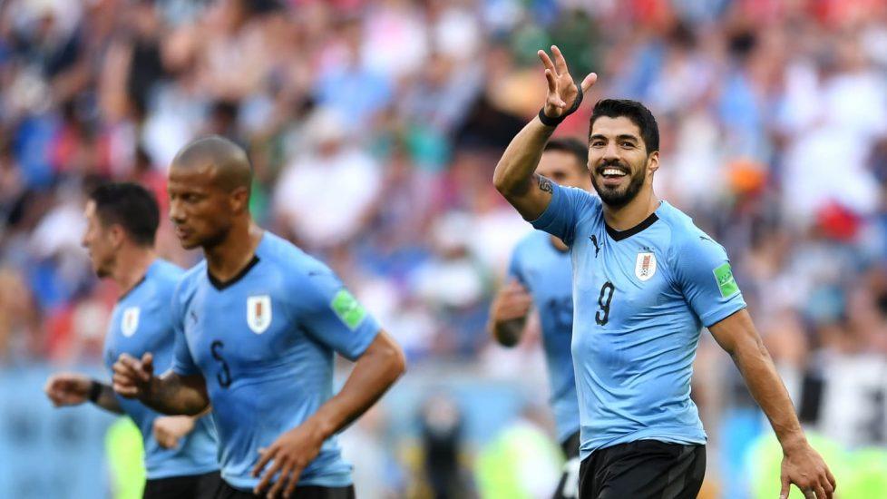 Urugwaj pokonał Arabię Saudyjską. Luis Suarez zdobył swojego pierwszego gola na mundialu