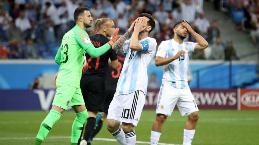 """MŚ: Chorwacja """"sprała"""" Argentynę. Messi pakuje walizkę?"""