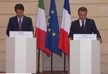 Spotkanie Macron-Conte: Politycy wyjaśnili wszelkie nieporozumienia