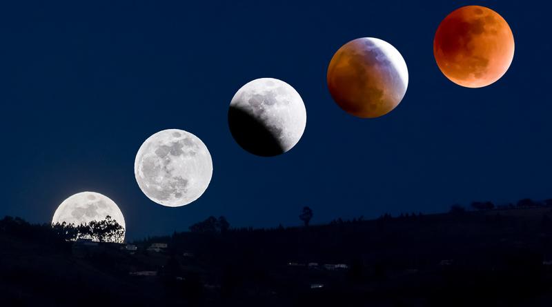 Spójrz w niebo: Częściowe zaćmienie księżyca, a od środy do końca sierpnia można będzie obserwować Perseidy