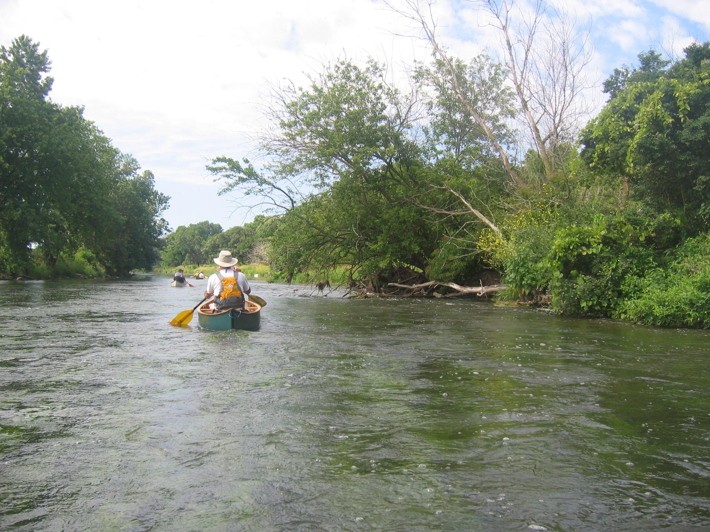 Akcja ratunkowa na rzece DuPage